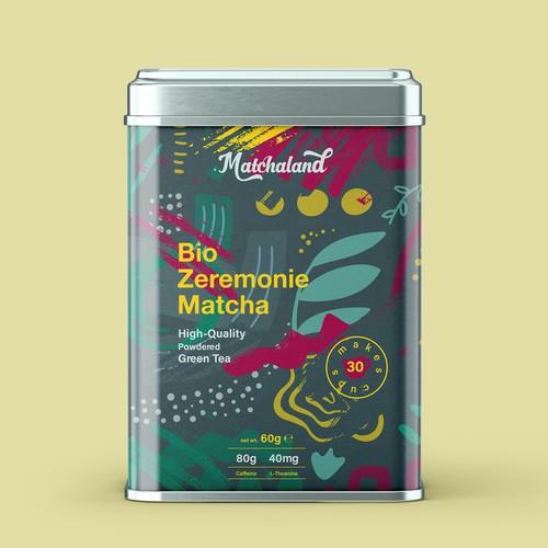 Matcha Tea Packaging