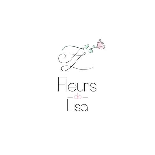Unique Logo for Florist Company FleursdeLisa
