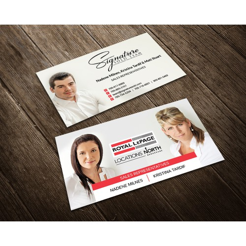 Elegant Business Card Design for Realtors