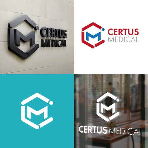 Logo for medical device company