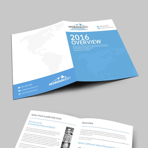 Brochure Design for an Accounting Firm