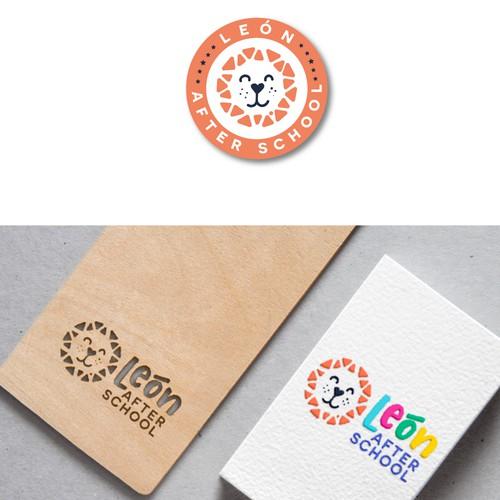 Logo and website design for León after school