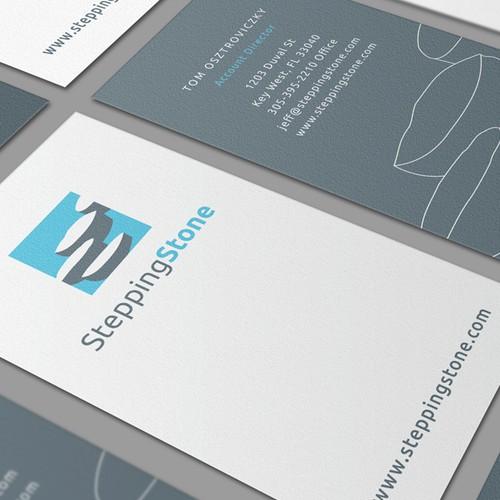 Logo design for startup Stepping Stone