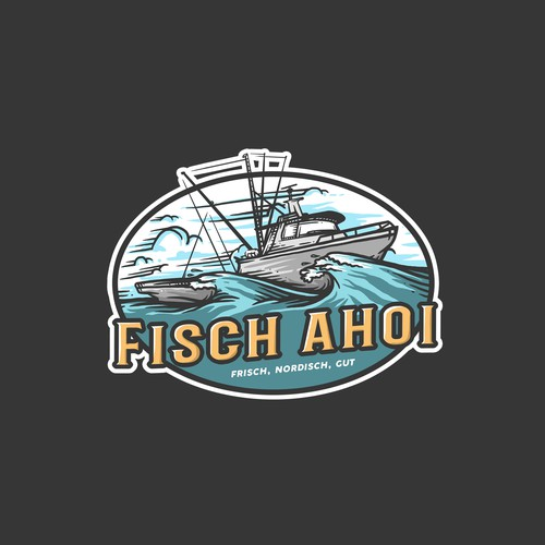 Logo proposal for FISCH AHOI