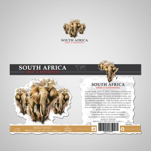 South African Wine.