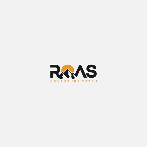 Logo design concept for Roas adventure often