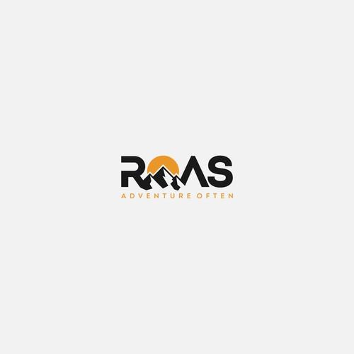 Logo design concept for Roas adventure often