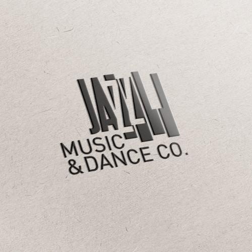 Jazz dance company logo