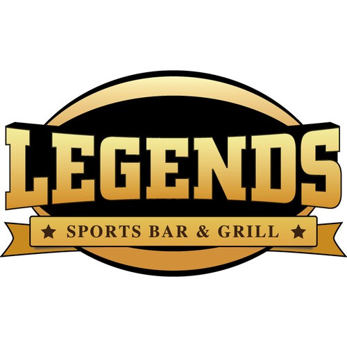 Create the next logo for Legends Grill and Sports Bar