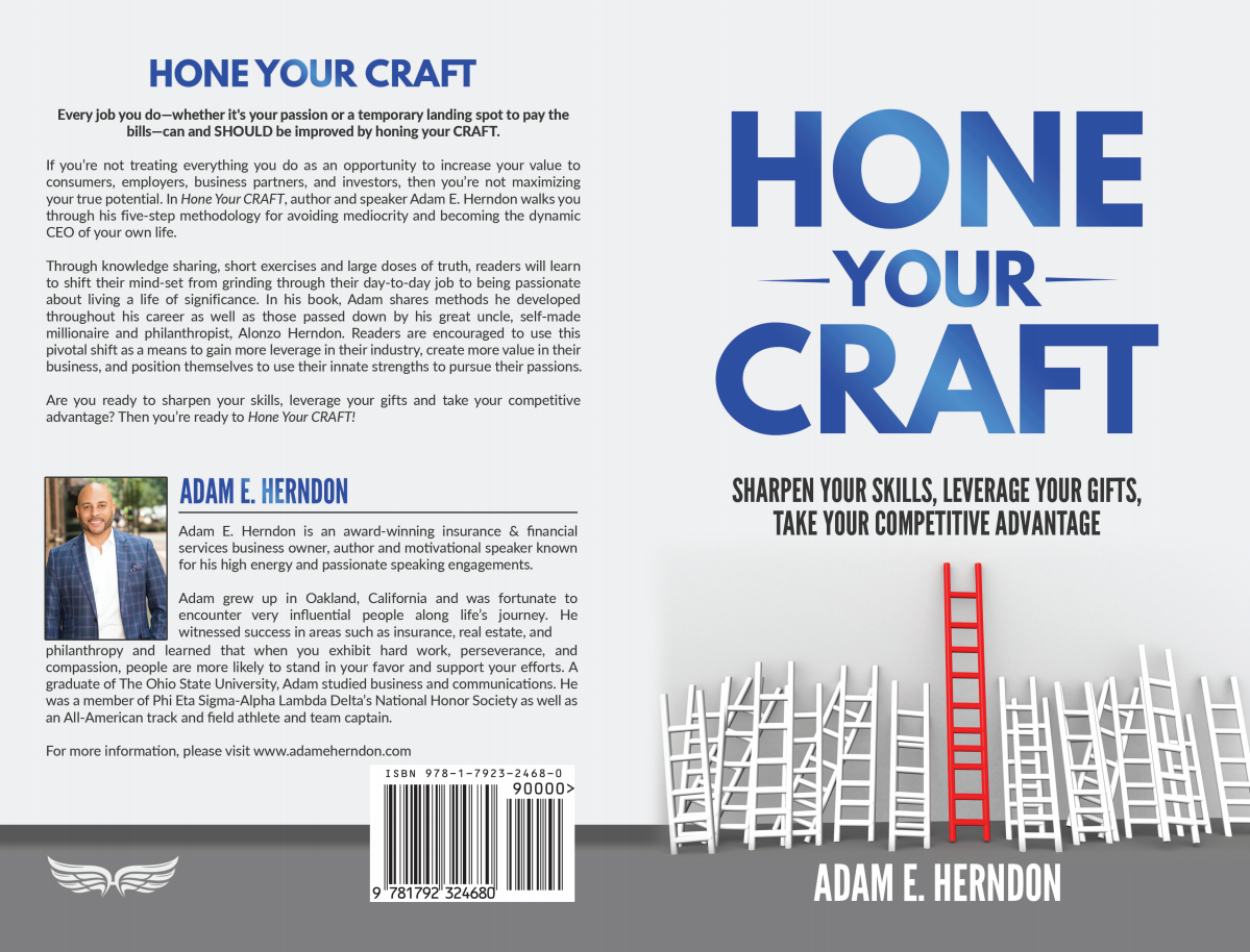 Interior Book Design for Hone Your Craft