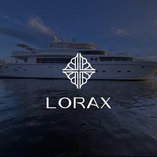 Mega Yacht Charter Logo Design