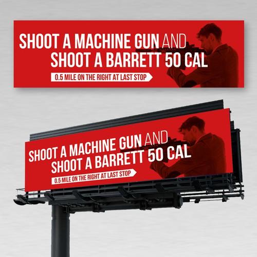 Shooting Range Billboard