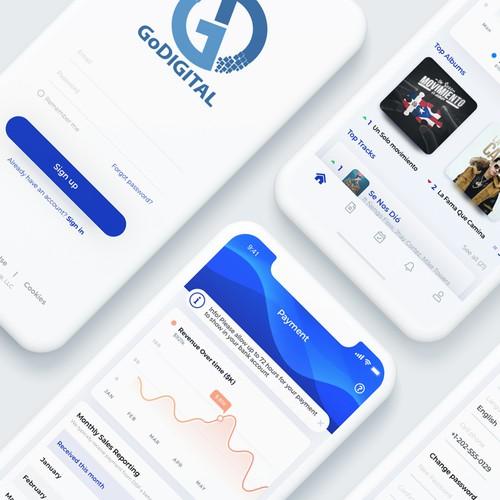 Music Industry Professionals App