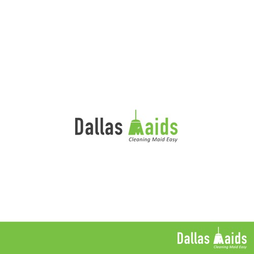Logo Concept of Dallas Maids