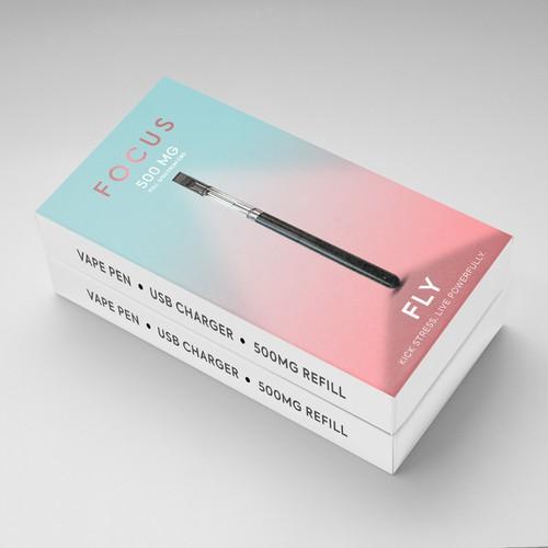 CBD vape pen box design