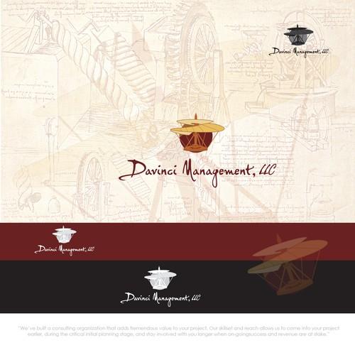 Modern Classic Logo Design for Davinci Mangement, LLC