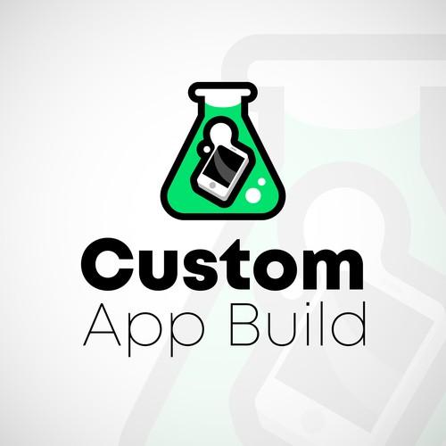 Custom App Build logo proposal