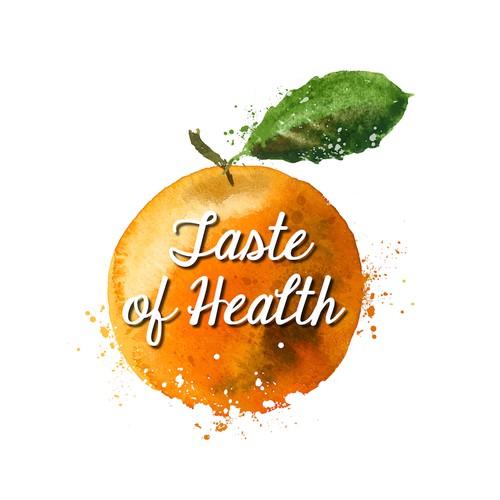 Logo/Header for health food blog