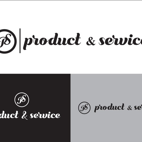 Logo concept for Product and Service.