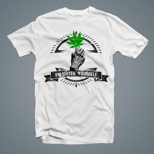 enlighten yourself t-shirt