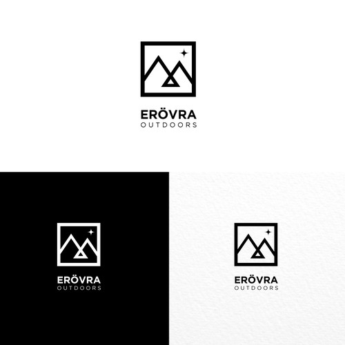 Minimal logo idea for outdoor equipment company