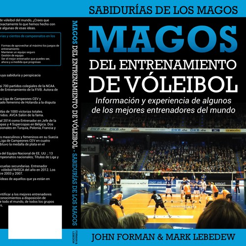Volleyball Coaching Wizards book translation cover