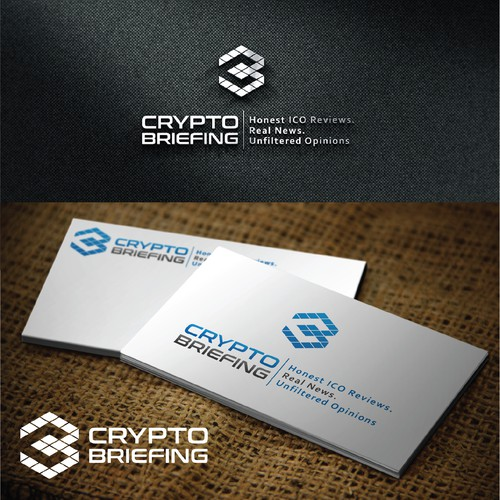Strong Logo proposal for Cryptobriefing