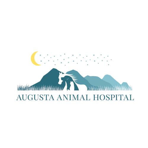 Beauitful logo for Animal Hospital
