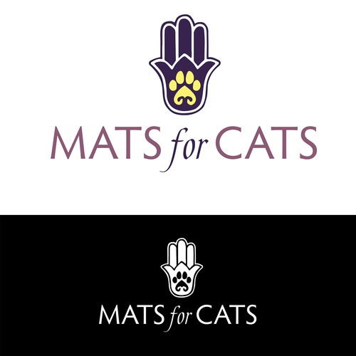 Logo Concept for Cat Yoga Mats