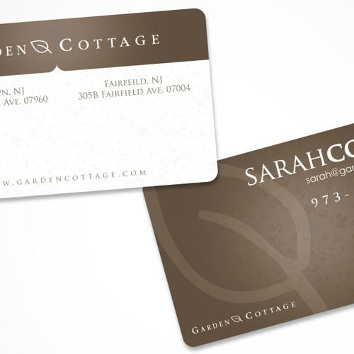 Garden Cottage Business Card