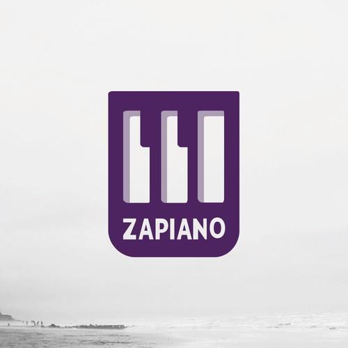Logo Konzept for a Piano Portal
