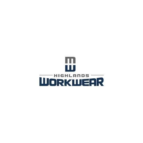 Refresh and update highlands workwear logo