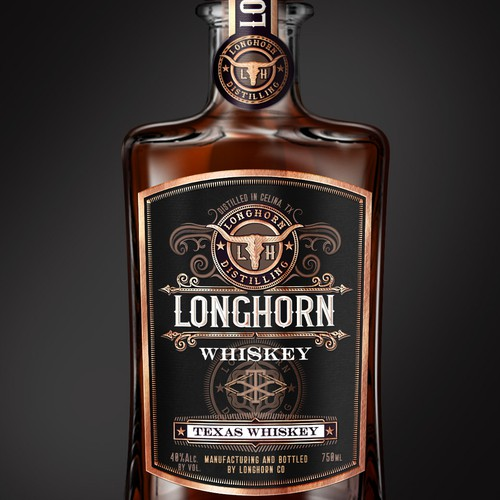 LONGHORN Whiskey (Texas whiskey)