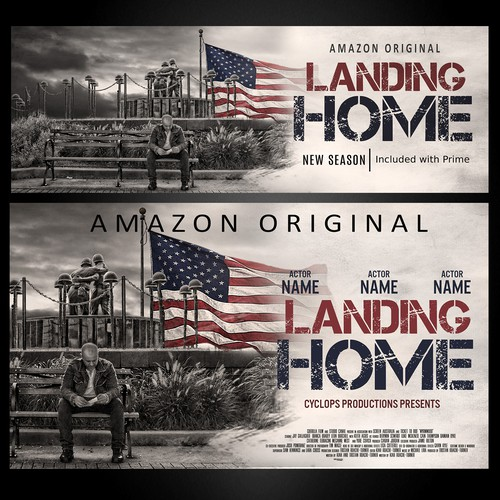 Landing Home TV series