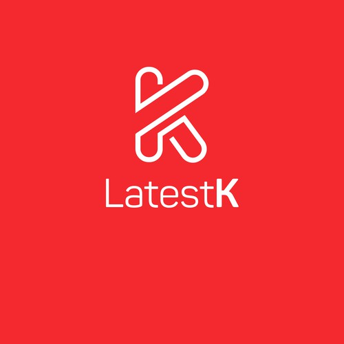 flat design concept for latest k