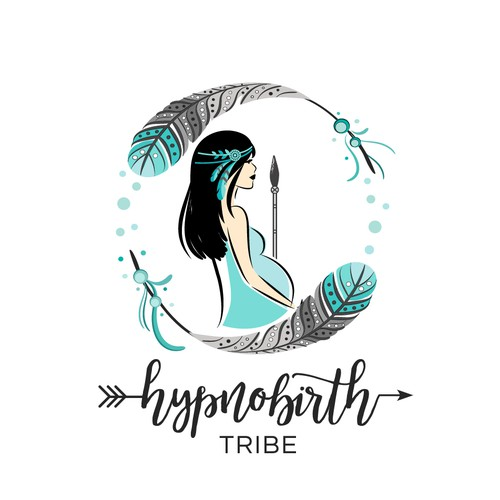 Logo for Childbirth education to empower the modern woman to harness her inner strength and find her tribe