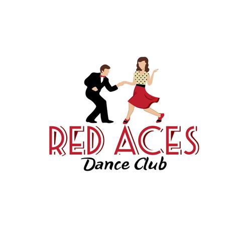 retro design for swing dance club