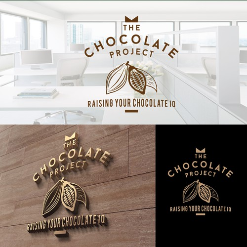 The Chocolate Project needs an elegant, clever logo with tagline