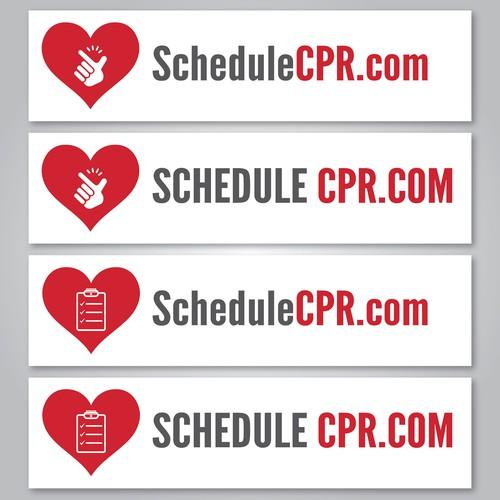 Logo Banner ScheduleCPR.com