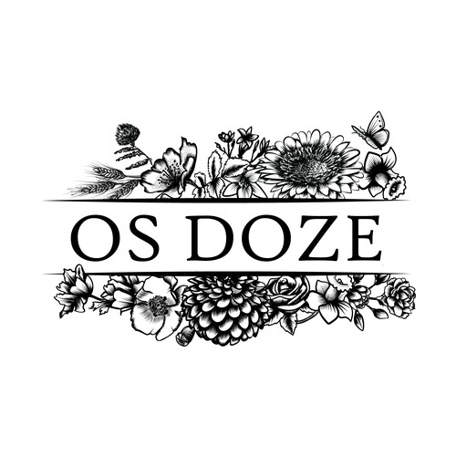 Botanical logo for Oz Doze