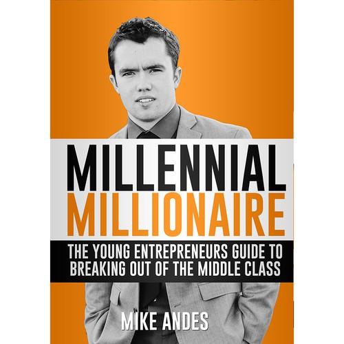 Book cover design Millennial Millionaire