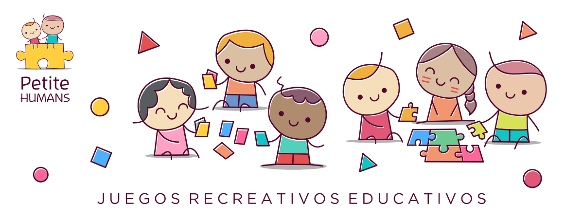 Logo and social media image for Tiny Humans, an educational and recreational games / toys project.