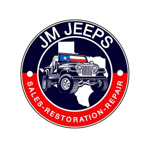 JM Jeeps Logo