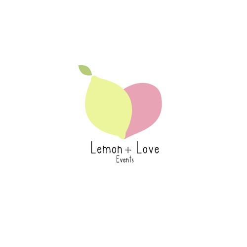 design a fresh modern logo for lemon+love events