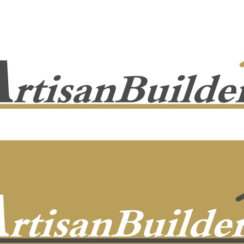 Logo and business card for construction company