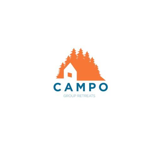 logo for camp retreats