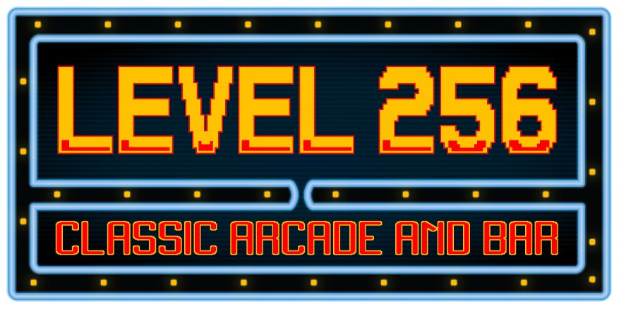 Design a logo for Level 256 Classic Arcade Bar! Mmmm video games and beer, please.