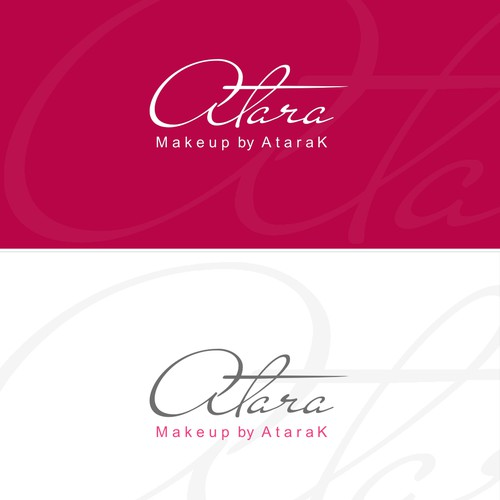 A Logo for a makeup artist for women.