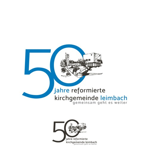 Logo redesigned for 50th Anniversary