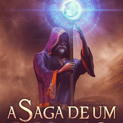 A Saga de um Mago - cover